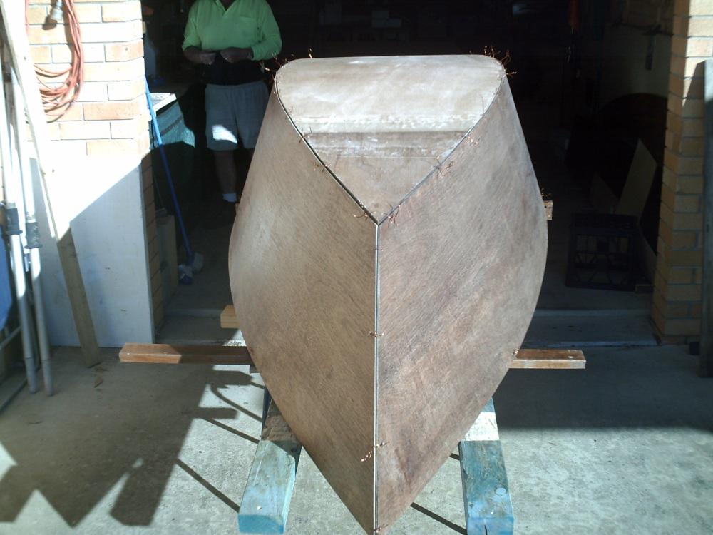 11' J-Skiff being build (2/6)