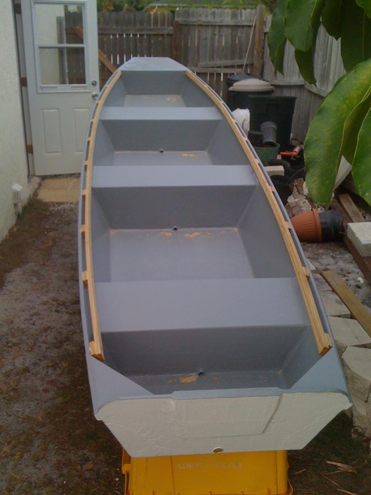 16' Ozark float boat being build (3/5)