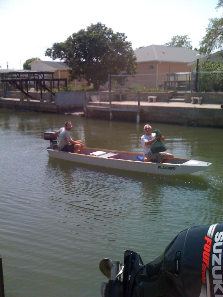 16' Ozark float boat being build (5/5)