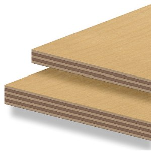 Picture of plywood and the different plies