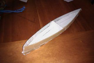 Nested Daytrip canoe built (1/5)
