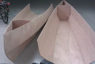 Nested Daytrip canoe built (2/5)