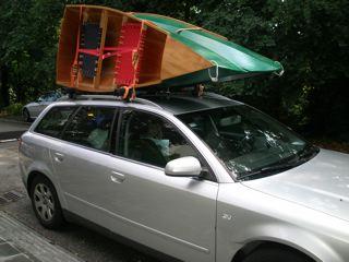 Nested Daytrip canoe built (3/5)