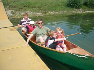 Nested Daytrip canoe built (4/5)