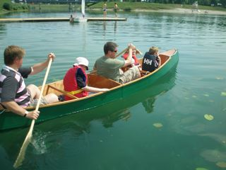 Nested Daytrip canoe built (5/5)